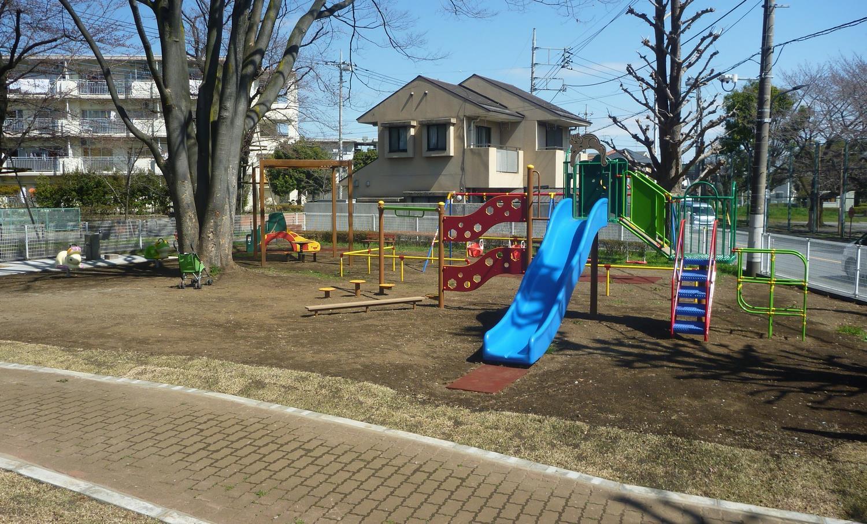 むさしの公園に新しい遊具を設置しました | 瑞穂町ホームページ